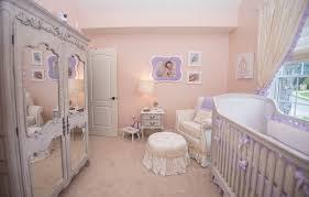 princess nursery in lavender glitter wall