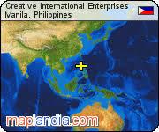 Creative Images International Creative International Enterprises Manila Google Satellite Map