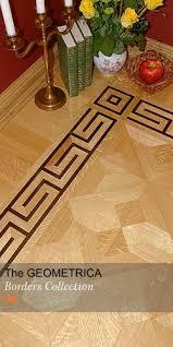 Hardwood Floor Border Design Ideas The Greek Key Iv Hardwood Floor Border Design Manufactured By