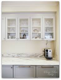 upper cabinets with glass doors new kitchen update integrated hood upper cabinets glass doors