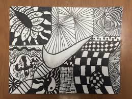 zentangle design zentangled animal silhouettes this little class of mine