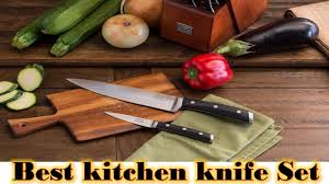 best kitchen knife brands best cutlery set review 2017 youtube