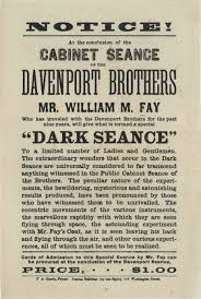 two tiered pricing the davenport brothers and fay circa 1870