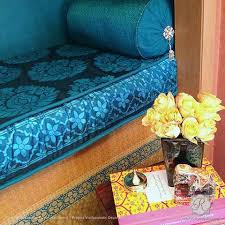 Home Textile Design Studio India Indian Stencils U0026 Turkish Stencils Diy Boho Chic Wall Stencils