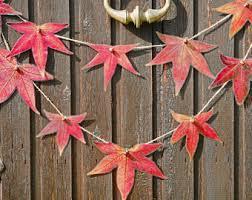 Autumn Tree Decorations Fall Decorations Etsy