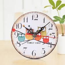 cute desk clock promotion shop for promotional cute desk clock on