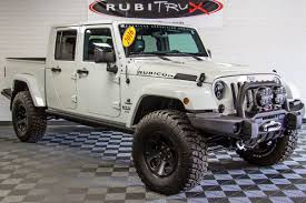 jeep rubicon white custom jeep wranglers for sale rubitrux jeep conversions aev