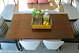 Pipe Patio Furniture by Diy Plumbing Pipe Table Tutorial