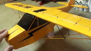 j 3 cub built from foam board for pdf plans go to
