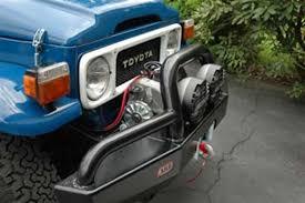 toyota land cruiser arb amazon com arb 3420020 winch compatible bull bar automotive