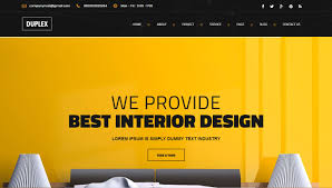 interior design u0026 furniture website templates 2016 designsmag org