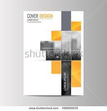 brochure template abstract flyer design background brochure template stock vector