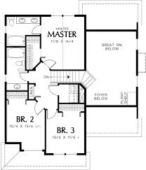 Craftman Style Home Plan Impressive House Plans 2500 Sq Ft One Story 9 Impressive Inspiration
