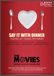 the movies restaurant valentine programs the spring hotel