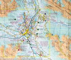 Jasper National Park Canada Map by Trail Map Jasper And Maligne Lake Gem Trek U2013 Mapscompany