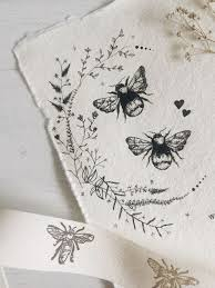 25 bee illustration ideas bee drawing honey