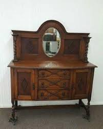 mirrored sideboard wooden antiques pinterest mirrored