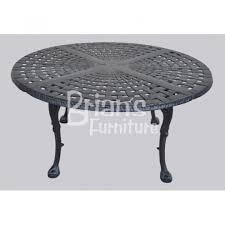 Aluminum Coffee Table Origin Cast Aluminum Round Coffee Table 42 Inch Ca 8882r 42