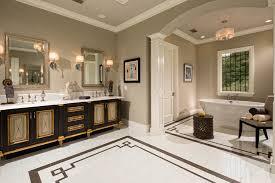 Bathroom Vanity Decor by Mediterranean Bathroom Brown Gold Vanity Decor Ideas
