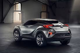 toyota global toyota unveils a new small suv concept car previews driven