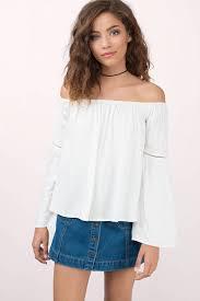 shoulder tops white shirt white shirt shoulder shirt white top
