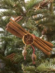 cinnamon spice bundle christmas tree ornaments hgtv