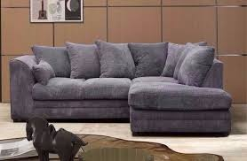 NEW DYLAN JUMBO CORD CORNER SOFA OR  AND  SEATER SOFA SET - Corner sofa london 2