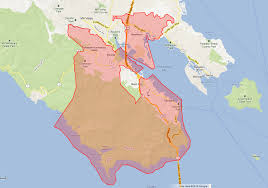 Marin Maps District Map Southern Marin Fire Protection District