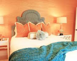 Purple And Orange Bedroom Bed Ideas Eclectic Kids Tangerine With Turquoise Deep Purple Navy