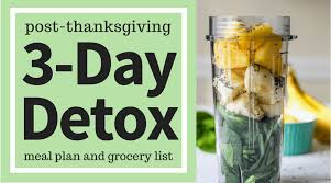 post thanksgiving 3 day detox meal plan ally s cooking