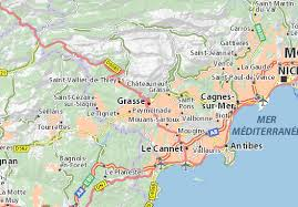 map of antibes map of grasse michelin grasse map viamichelin