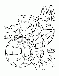 pokemon sandshrew coloring pages for kids pokemon characters