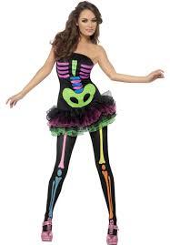 halloween skeleton costume neon skeleton costume fever fancy dress collection