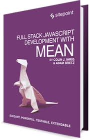 best node js books full stack javascript development with mean sitepoint premium