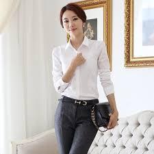aliexpress com buy 2017 ol white shirt women cardigan office