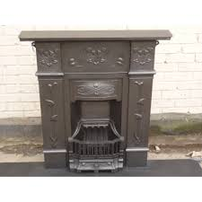 stripping of cast iron fireplace