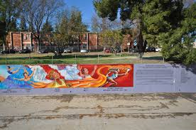 actions taken great wall of los angeles is a half mile long mural depicting the history of california through images of significant figures and historic events from