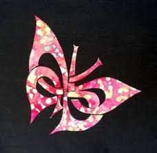 celtic butterfly 5 x 5 5 white vinyl decal