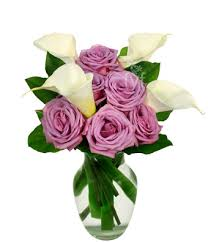 calla lilies bouquet purple and calla bouquet at from you flowers