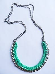 crochet jewelry necklace images Crochet chain necklace maker crate jpeg