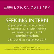 Www Seeking Co Za Kznsa Intern Wanted