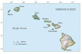 Map Of Hawaii Island Hcp Unique Kauai Seabird Habitat Conservation Program