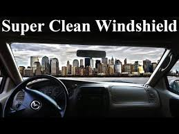 Car Interior Deep Cleaning How To Super Clean The Inside Of Your Windshield No Streaks
