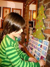 ben and birdy ornament tree advent calendar