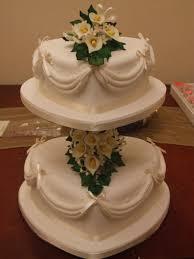 Heart Wedding Cake 2 Tier Heart Wedding Cake Cakecentral Com