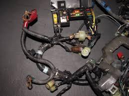 88 89 honda crx oem d15b2 engine wiring harness u2013 autopartone com