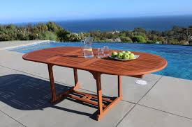 Butterfly Patio Furniture by Vifah Vista Extension Butterfly Dining Table U0026 Reviews Wayfair