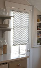best door window treatments ideas pinterest sliding love and life leadora diy roller shades