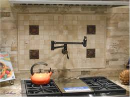 Wallpaper For Kitchen Backsplash by Kitchen Cool Kitchen Decoration With Backsplash Behind Stove