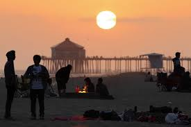 Beach Fire Pit by California Regulators Propose Banning Beach Fires Sparking Ire Wsj